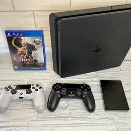 Игровые приставки - Sony PlayStation 4 Slim 500 GB, 0