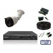Камеры видеонаблюдения - Комплект уличного видеонаблюдения на 1 камеру full, 0