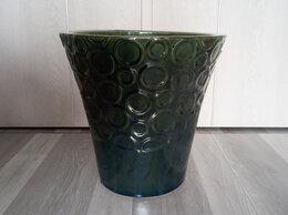 Горшки, подставки для цветов - Кашпо для большого растения, зеленый перламутр, 0