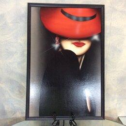 Картины, постеры, гобелены, панно - Картина арт-деко Незнакомка. Дубовский А.В.…, 0