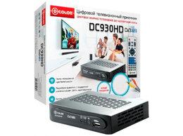 ТВ-приставки и медиаплееры - Цифровой приемник ТВ DVB-T2 D-Color DC930HD, 0