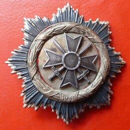Жетоны, медали и значки - Германия денацифицированный орден Немецкого…, 0