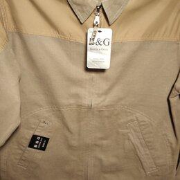 Куртки - Новая мужская ветровка из хлопка Турция, 0