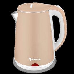 Электрочайники и термопоты - 🆕️ Чайник элект. с двухслойным корпусом 2,2 л., 0