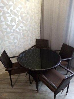 Столы - Стол и стулья из ротанга, 0