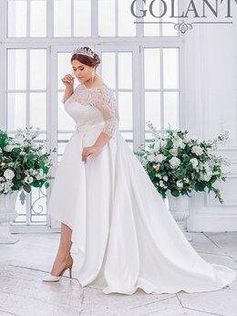 Платья - Атласное свадебное платье размер 50-52 TM GOLANT, 0
