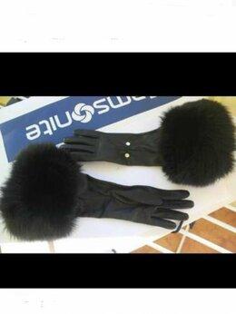 Перчатки и варежки - Перчатки новые Versace Италия 44 46 7 кожа…, 0