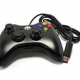 Рули, джойстики, геймпады - Геймпад xbox 360/PC проводной черный, 0