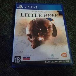 Игры для приставок и ПК - Ps4 игра Little Hope, 0