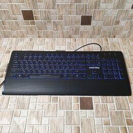 Клавиатуры - Клавиатура проводная USB ,с подсветкой  (353)…, 0
