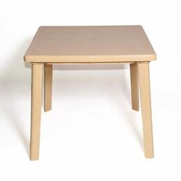 Столы и столики - Стол Стандарт Пластик Групп квадратный 800х800, 0
