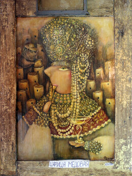 Картины, постеры, гобелены, панно - Феина картина. Царица медовая., 0