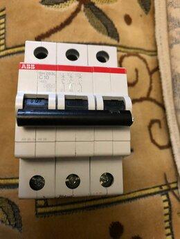 Защитная автоматика - Автомат ABB C10 SH203L б/у, 0