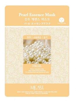 Маски - Маска тканевая жемчуг Mijin Essence Pearl Mask, 0
