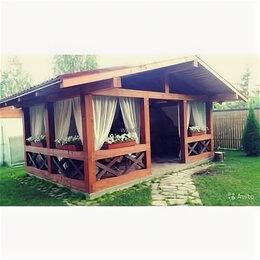 Готовые строения - Деревянная беседка в стиле Шале 6*4 метра, 0