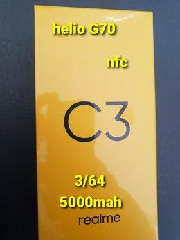 Мобильные телефоны - Новый REALME C3 3/64 NFC серый металл, 0