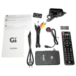 Спутниковое телевидение - Цифровой спутниковый HD приемник GI HD Slim 3+, 0