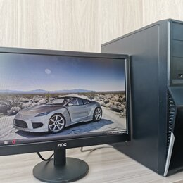 Настольные компьютеры - Настольный компьютер с монитором , 0