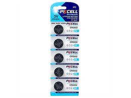 Батарейки - Литиевый элемент питания PKCELL CR2032-5B тип - CR, 0