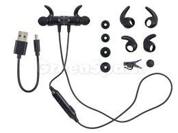 Наушники и Bluetooth-гарнитуры - Bluetooth гарнитура спортивная HOCO ES8 (черный), 0