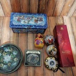 Подарочная упаковка - Металлические сувенирные коробки. , 0