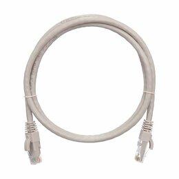 Электроустановочные изделия - Коммутационный шнур NIKOMAX U/UTP 4 пары, Кат.5е (Класс D), 100МГц, 2хRJ45/8P8C,, 0