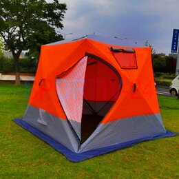 Палатки - Палатка для зимы. На четыре места из 3-х слоев ткани. ДЕШЕВО, 0