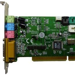 Звуковые карты - � Звуковая плата PCI Es1938s k350 100 mbit rev. 1.10 рабочая, 0