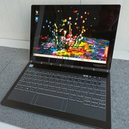 Планшеты - Lenovo Yoga Book C930 YB-J912F i5-7Y54 4/128GB, 0