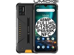 Мобильные телефоны - Новые Umidigi Bison Cyber Yellow IP68 48MP 6/128GB, 0