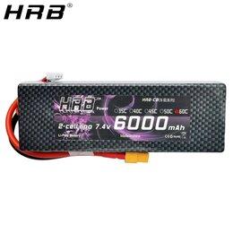 Аккумуляторы и зарядные устройства - Новая 2S Аккумуляторная батарея на 7,4v 6000mAh, 0