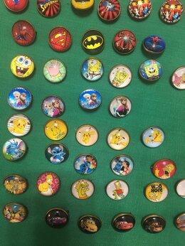 Жетоны, медали и значки - Супергерои, Лего, Спанч боб и другие.Значки, 0