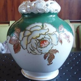 Вазы - Фарфоровая ваза Schaubach Kunst Германия редкост, 0
