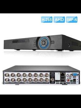 Видеорегистраторы - Видеорегистратор 16канальный мультигибрид 5mPixel, 0