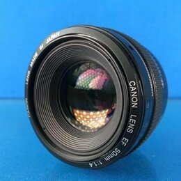 Объективы - Canon EF 50mm F1.4 USM, 0