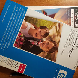 Бумага и пленка - фотобумага hp -и epson, 0