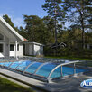 Павильон для бассейна Albixon DALLAS Clear B (4 секции) по цене 879910₽ - Прочие аксессуары, фото 2