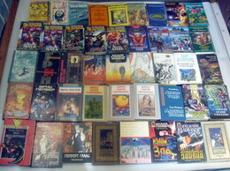 Художественная литература - Фантастика, фэнтези. Коробка книг. Список внутри., 0