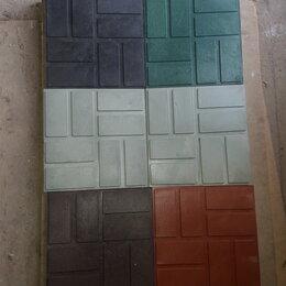 Тротуарная плитка, бордюр - Плитка полимерпесчаная 250х250х22 садовая , 0