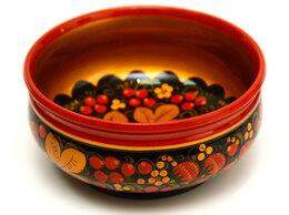 Блюда и салатники - Чашка расписная хохлома D18,5 H8,5, 0