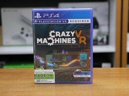 Игры для приставок и ПК - Crazy Machines VR - PS4 Новый диск, 0