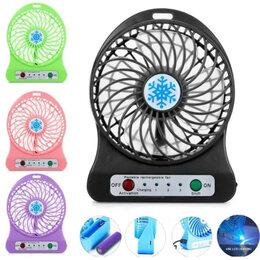 Вентиляторы - Настольный вентилятор Mini Fan Аккумуляторный, 0