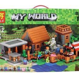 Рюкзаки, ранцы, сумки - Lego Minecraft аналог lele 79288 Деревня 1106 дет, 0