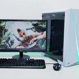 """Настольные компьютеры - Игровой пк на AMD+GTX 1050 Ti 4Gb+DDR4+Монитор 22"""", 0"""