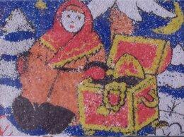 """Картины, постеры, гобелены, панно - Фреска (песчаная картина) """"Морозко"""" (handmade), 0"""