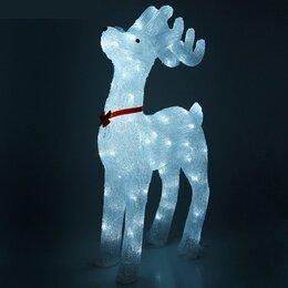Новогодние фигурки и сувениры - Светящийся новогодний олень, 0