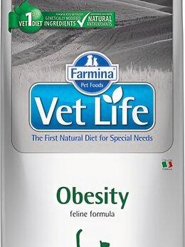 Корма  - Корм Farmina Vet Life Obesity для кошек (контроль , 0