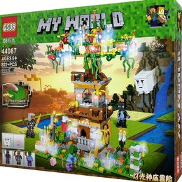 Игровые наборы и фигурки - Конструктор Minecraft My World «Дерево желаний», 0