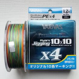 Леска и шнуры - Шнур Avani Jigging 10x10 Premium PE X4…, 0