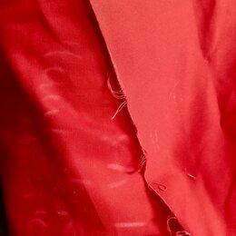 Ткани - Ткань саржа красная 100% хлопок, 0